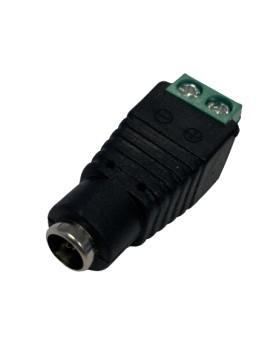 Adapter mit Schraubklemme zu Steckernetzteil