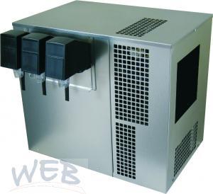 Obertheken-Kaltkarbonator GV21 & 3x Postmix m. elektr. Hähnen