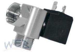 Magnetventil Edelst.Somweber / horizontal  24VDC,24W, DN5; NBR, A