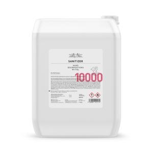 Hände-Desinfektionsmittel Sanitizer 10.000ml, 85% / nach WHO Rez.