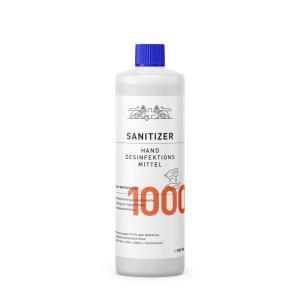 Hände-Desinfektionsmittel Sanitizer 1.000ml, 85% / nach WHO Rez.