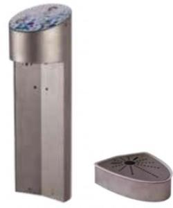 Soda- & Wasser Tower mit 3 Ausschanktasten inkl. Tropftasse