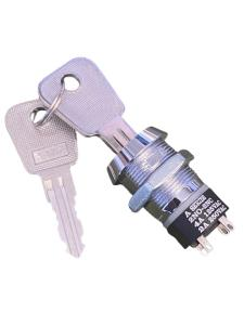 Schlüsselschalter, Aus-Ein, DPST, 2 Positionen, 4 A