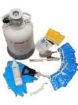 Reinigungsset für Zapfanlagen mit 3-Kant-Zapfkopf
