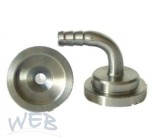 Tülle Edelstahl TDS®-7T2.3, geb. ID3mm, AD4mm
