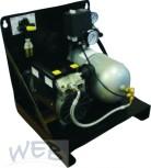 Kompressor ölfrei WEB-STL80, 9 Liter, mit Montagehalterung