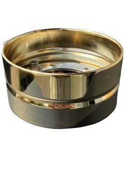 Fußring zu Keramiksäule vergoldet 140mm / ABVERKAUF