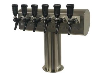 Barium column for 6 taps