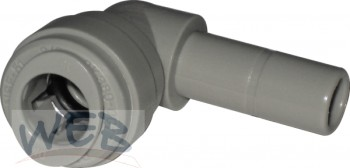 """stem to tube elbow connector 3/8""""-3/8"""""""