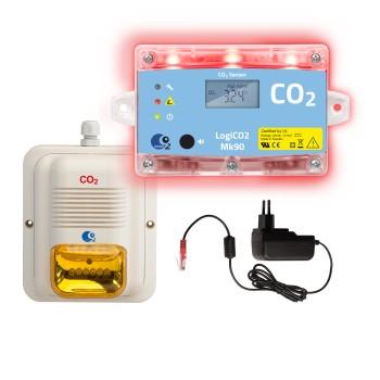 Gaswarngerät LogiCO2 MK90-SA 1-RAUM Überwachung