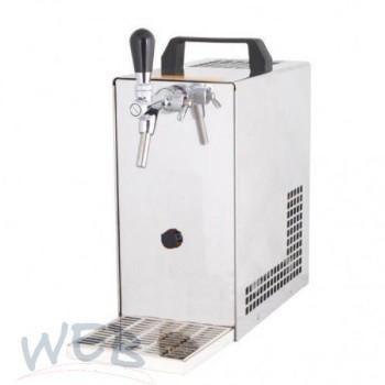 Obertheken- Trockenkühler WEB-25/K 1-leitig, mit Luftkompressor