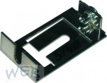 Mounting plate for solenoid valve for dispensing head housing