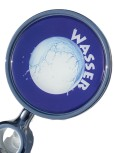 "Medallion Plaque Plastic Doming ø 80 mm ""Wasser"""