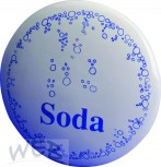 "Medallion plaque ceramic ""Soda"""