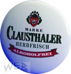 """Medaillonplakette Keramik """"CLAUSTHALER"""""""
