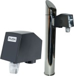 Zapf Tower GRAZ glossy stainless steel incl. Postmix-Valves