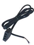 LED Mini-Stecker 3-fach Verteiler SERIELL mit Kabel 1m