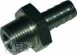 Adaptor Stainless Steel 10 mm 3/8""