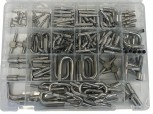 Stainless steel fittings assortment box / 200 pcs.