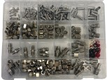 Assortment box Nipples, nuts, adapters, gaskets / 355 pcs.