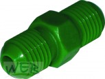 """Adapter AG7/16""""UNF x  AG7/16""""UNF Kunststoff Farbe GRÜN"""