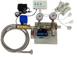 Water filter station / table water filter system+ leak protection