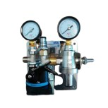Water filter station / table water filter system + 2 gauges + TV