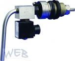 Bierhahn / Premixhahn WEB elektrisch  mit Kompensator