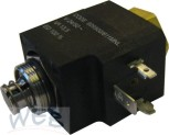 E-Ventil-SET inkl. Plunger & Hülse, inkl. Spule, 24 V / 50 Hz / 1