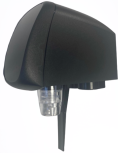 Flomatic 424+GLS Schnellauslauf, Nadelventil, Glasschalter, Haube