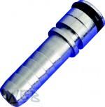 Nippel 7,2 mm gerade Edelstahl für 372Q passend zu 424-Flomatic
