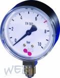Manometer für Druckminderer d 63 0-10bar