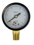 Manometer für Druckminderer d 49 0-10bar / roter Strich bei 7bar