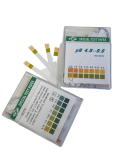 PH-Teststreifen zweifarbig 4,5-9,0 PH / Box zu 100 Stk.