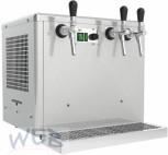 WEB Overcounter beer dry-cooler 3 lines, 5/8 HP