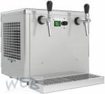 WEB Overcounter beer dry-cooler 2 lines, 5/8 HP