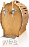 Oak Barrel dry cooler WEB-EF50 / Kp + air compressor