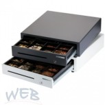 WEB cash drawer with front opening