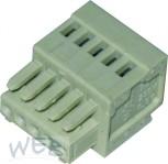 Female connector Wago  5 pins 2.5mm