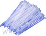 Kabelbinder Polyamid 100mm x 2,5mm weiß Belastbarkeit  9kg, max.B