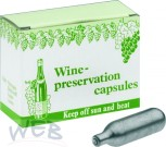 Wine protection capsules nitric oxide 8g